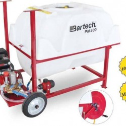 Bartech PM400 Benzinli İlaçlama Makinası 6.5Hp 400 Litre