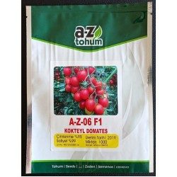 A-Z 06 F1 Kokteyl Sırık Domates Tohumu