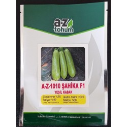 A-Z-1010 F1 Şahika Yeşil Kabak Tohumu