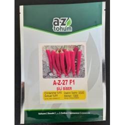 A-Z 27 F1 Şili Biber Tohumu