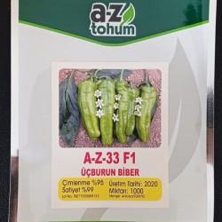 A-Z-33 F1 Tatlı Üç Burun Biber Tohumu