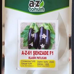 A-Z-61 F1 Şehzade Uzun Patlıcan Tohumu