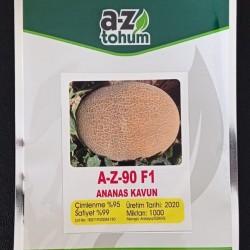 A-Z-90 F1 Ananas Tipi Kavun Tohumu