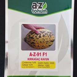A-Z-91-F1 Kırkağaç  Kavun Tohumu