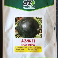 A-Z-96 F1 Siyah Karpuz Tohum